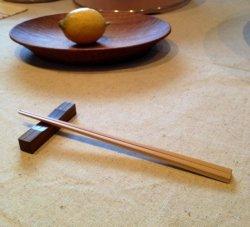 画像1: 【訳あり品】中川木工芸比良工房 子ども白竹箸