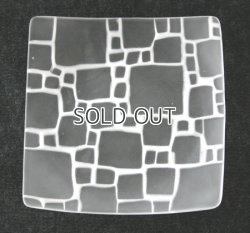 画像1: サブロウ 角皿大 白B